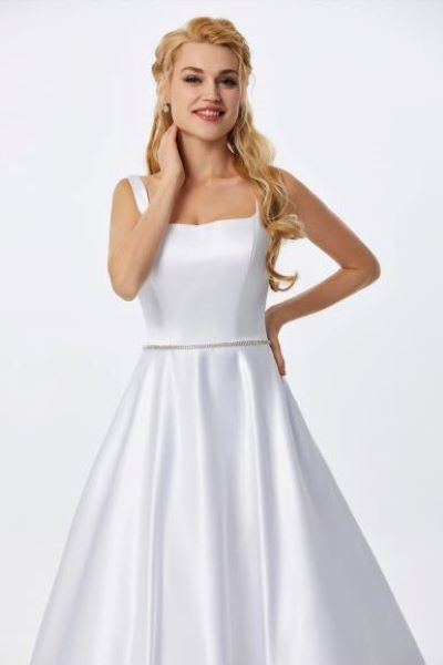 Available in Ivory & White